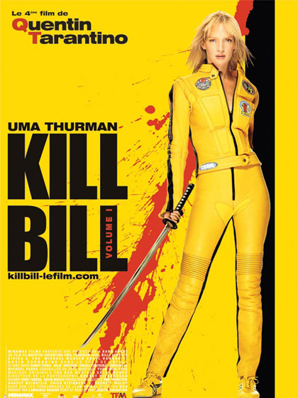 Mardi 26 septembre, venez assister à la projection en plein air et sur grand écran, du volume 1 de Kill Bill.
