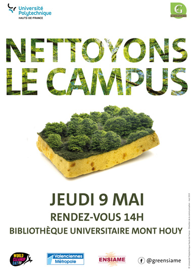NETTOYER LE CAMPUS